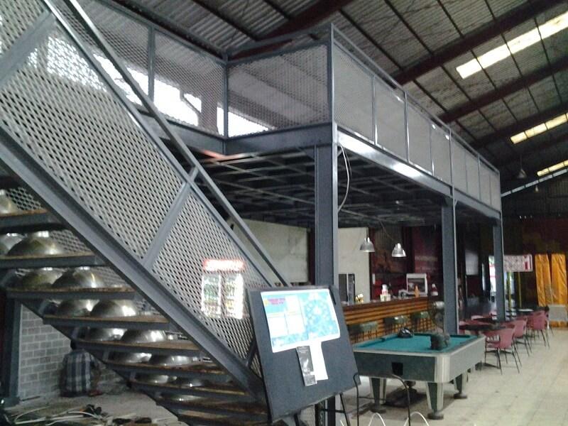 jual rak mezzanine di serang dan Riau